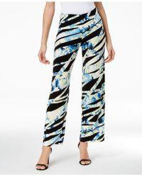 Alfani - Printed Wide-leg Pants, Created For Macy's - Lyst