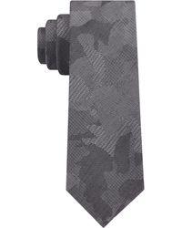 DKNY | Camo Florals Slim Tie | Lyst