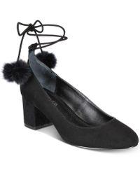 Charles David - Libby Pom Pom Court Shoes - Lyst