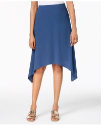 Alfani - Pull-on Handkerchief-hem Skirt, Created For Macy's - Lyst