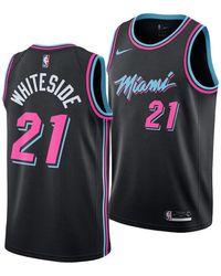 cbfc7531e Lyst - adidas Men s Chris Bosh Miami Heat Swingman Jersey in Black ...