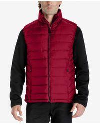Michael Kors | Men's 3-in-1 Fleece Jacket | Lyst