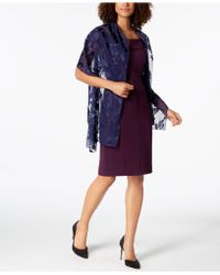 INC International Concepts - I.n.c. Blossom Shadow Evening Wrap, Created For Macy's - Lyst