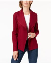 Style & Co. - Knit Blazer, Created For Macy's - Lyst