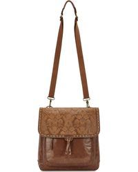 The Sak | Ventura Embossed Leather Convertible Medium Backpack | Lyst
