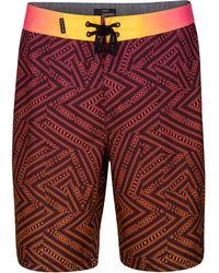 Hurley - Crosswinds Geo-print Boardshorts - Lyst