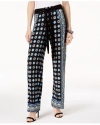 INC International Concepts - I.n.c. Printed Pull-on Pants, Created For Macy's - Lyst
