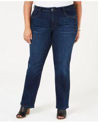 365bbc26939 Style   Co. - Plus   Petite Plus Size Tummy Control Straight-leg Jeans