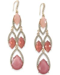 INC International Concepts - I.n.c. Crystal Chandelier Earrings, Created For Macy's - Lyst