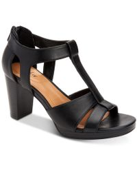 Style & Co. - Ophelia Block-heel Cutout Sandals, Created For Macy's - Lyst