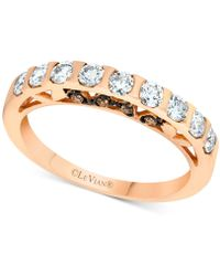 Le Vian - Diamond Band (5/8 Ct. T.w.) In 14k Rose Gold - Lyst