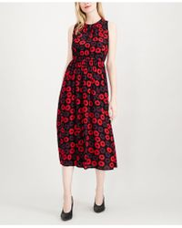 Maison Jules - Printed Midi Dress, Created For Macy's - Lyst