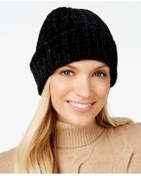 Charter Club - Chenille Shaker Cuff Hat - Lyst