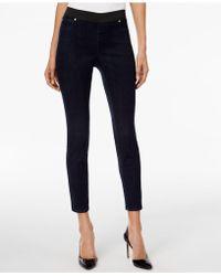 INC International Concepts - High-waist Ink Wash Flare-leg Jeans - Lyst