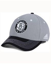 adidas - Brooklyn Nets Duel Logo Flex Cap - Lyst