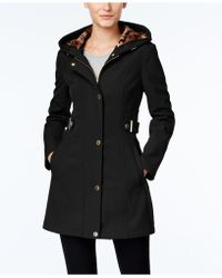 Via Spiga - Water-resistant Hooded Coat - Lyst