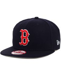 brand new a8234 98620 KTZ Boston Red Sox 2 Tone Link Cooperstown 9fifty Snapback Cap in Green for  Men - Lyst