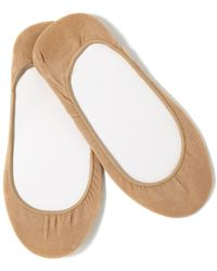 Hue | Hidden Cotton Liner 4 Pack Socks | Lyst