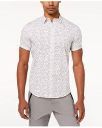 Sean John - Flight Geo-print Shirt, Created For Macy's - Lyst