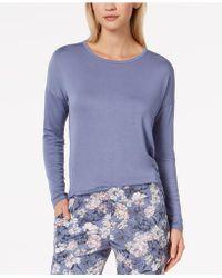 Alfani - Knit Loose Pyjama Top - Lyst