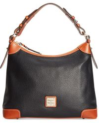 Dooney & Bourke - Pebble Hobo - Lyst