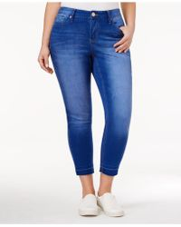 Rampage - Trendy Plus Size Maiden Wash Skinny Jeans - Lyst