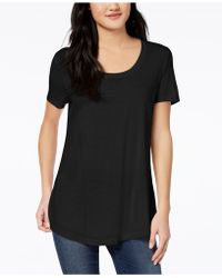 Maison Jules - Scoop-neck T-shirt - Lyst