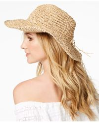 Steve Madden - Packable Cowboy Floppy Hat - Lyst