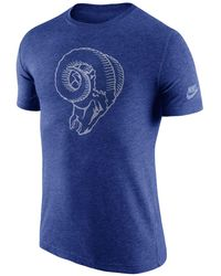 Nike - Men's Los Angeles Rams Historic Logo T-shirt - Lyst