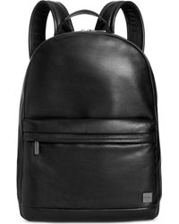 Knomo - Leather Laptop Backpack - Lyst