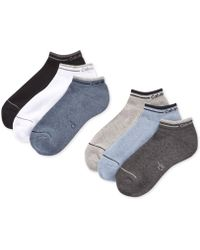 CALVIN KLEIN 205W39NYC - Six-pack Back Tab Ankle Socks - Lyst