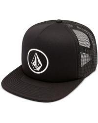 Volcom - Men's Full Frontal Cheese Graphic-print Logo Trucker Hat - Lyst