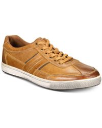 Kenneth Cole Reaction - Sprinter Leather Trainers - Lyst
