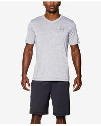 Under Armour - V-neck Tech T-shirt - Lyst
