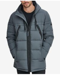Marc New York - Crinkle Down Hooded Parka, Created For Macy's - Lyst