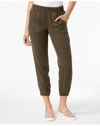 Style & Co. - Petite Cropped Jogger Pants, Created For Macy's - Lyst