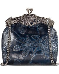 Patricia Nash - Rosaria Metallic Embossed Leather Shoulder Bag, Created For Macy's - Lyst