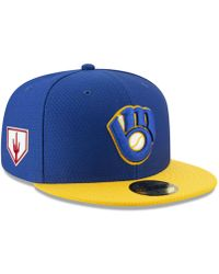 a9f29a250aa126 KTZ Seattle Mariners Spring Training Pro Light 59fifty Fitted Cap in Blue  for Men - Lyst