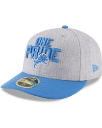 8eae6449 Detroit Lions Draft Low Profile 59fifty Fitted Cap