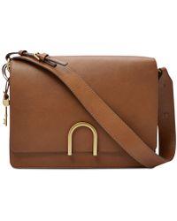 Fossil - Finley Leather Shoulder Bag - Lyst