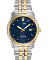 Citizen - Women's Eco-drive Two-tone Stainless Steel Bracelet Watch 40mm Bm7334-58l - Lyst