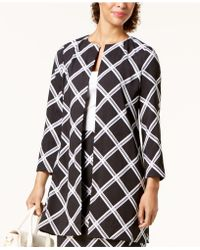 Alfani - Printed A-line Jacket, Created For Macy's - Lyst