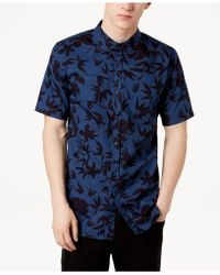 Ezekiel - Tropical Woven Shirt - Lyst