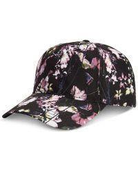 13ac6179870 Lyst - Billabong Sly Floral-print Snapback Hat in Black for Men