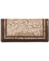 Brahmin - Ady Rose Gold Bourdelle Wallet - Lyst