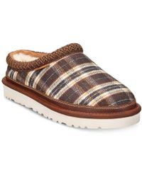 b428dd55480d Lyst - UGG Pure Ascot Plaid Slippers in Brown for Men