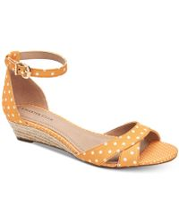 Charter Club Gippi Wedge Sandals, Created For Macy's - Multicolour