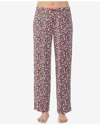 Ellen Tracy - Printed Pajama Pants - Lyst