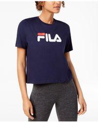 Fila - Miss Eagle Cotton T-shirt - Lyst