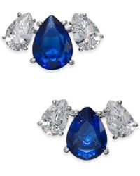 Danori - Crystal & Stone Stud Earrings, Created For Macy's - Lyst